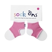 Fuchsia Pink Sock Ons 6-12 Months
