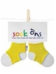 Yellow Sock Ons 6-12 Months