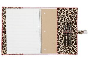 Fashionit Africa Brown Spiral Notebook Cover