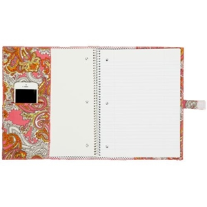 Fashionit Paris / Vintage Dots White Spiral Notebook Cover
