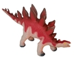 Large 18 Inch Soft And Squeezable Stegosaurus Dinosaur Toy