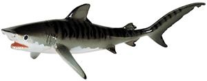 Tiger Shark Monterey Bay Aquarium Model Toy by Safari, Shark toy, Shark replica, shark models, kids
