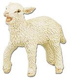 Safari Farm Lamb Model Toy, lamb toy, kids lamb replica, lamb model, childrens wild safari lamb toy