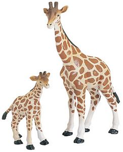 Wild Safari Wildlife Giraffe Baby Replica Toy Model