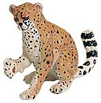Wild Safari Wildlife Cheetah Cub Replica Toy Model