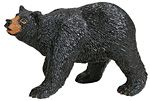 Wild Safari Black Bear Adult Replica Toy