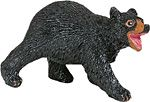 Wild Safari Forest Black Bear Cub Replica Toy Model