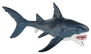 Wild Safari Great White Shark Model Toy, shark toy, shark model, kids shark toys