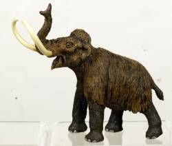 Wild Safari Dinosaur Woolly Mammoth Adult Replica Toy Model