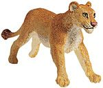 Wild Safari Wildlife Lioness Replica Toy Model