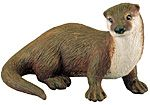 Wild Safari Forest Otter Replica Toy Model