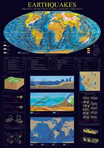 Earthquakes Poster Laminated