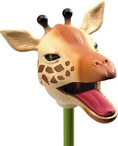 Giraffe Snappers, wildlife toys, zoo animals for kids, party favors, zoo party toys, animal party