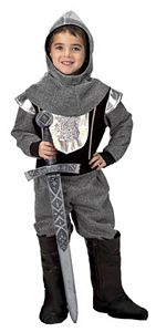 Jr. Knight with Hood-Child Size 2/3
