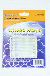 Wicked Wings Mini Prepared Slides- Set of 5