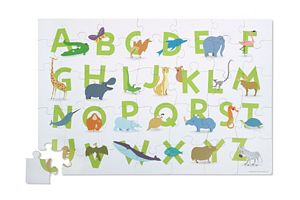 35 Piece Animal Alphabet Floor Puzzle