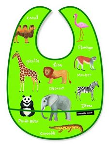 Wild Animals Bib, baby bibs, animals for babies, animals for toddlers, baby supplies