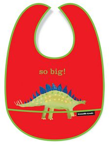 Kids So Big Bib - Dinosaur, crocodile creek, childrens dinosaur food bib, dino bib for sale