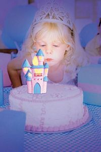 Blow Outs Castle-Magical Cake Topper