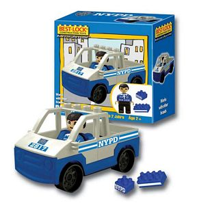 NYPD Pre-School Playset Best Lock