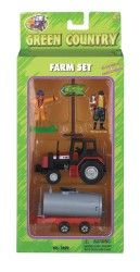 Green Country Farm Tractor W+WAGON