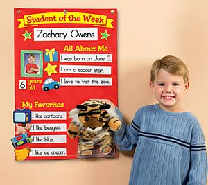Student of the Week Super Chart