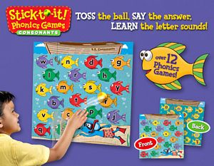 Stick To It Phonics Game- Consonants
