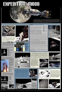 Expedition: Moon Poster (Laminated)