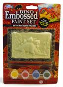 Dinosaur 3-D Embossed Paint Sets