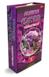 Amethyst Cluster Excavation Kit