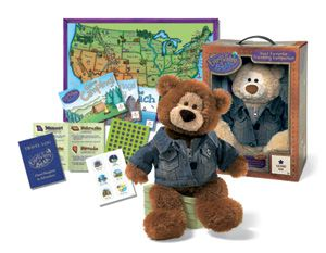 Gund Everywhere Bear Boy With Box