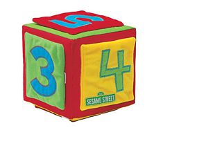 Sesame Street Learning Activity Cube