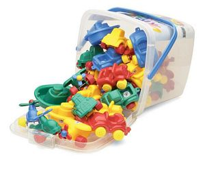 30 Piece  Viking Toys Bucket Set
