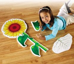Flower Foam Floor Puzzle