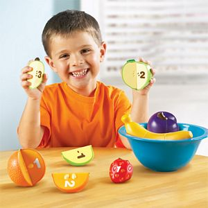 Smart Snacks - Counting Fun Fruit Bowl