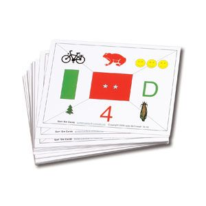 Sort Em Cards- Set of 18