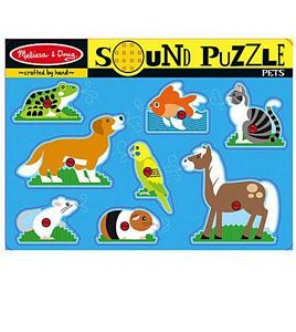 Melissa and Doug Pets Sound Puzzle