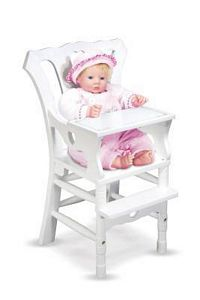 Melissa and Doug Doll High Chair