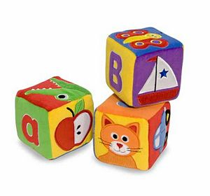 Melissa & Doug ABC Plush Blocks