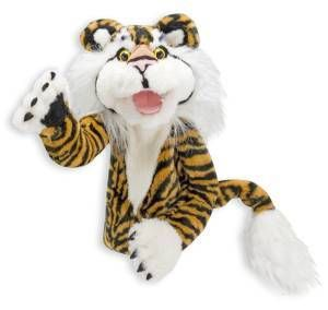 Melissa and Doug Stripes the Tiger Puppet