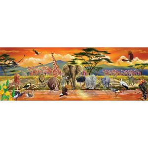 Melissa and Doug Safari Floor Puzzle 100 Pieces
