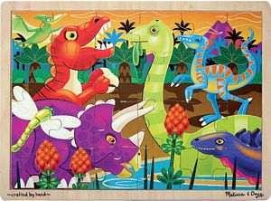 Melissa and Doug Prehistoric Sunset Jigsaw Puzzle