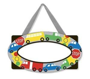 Melissa and Doug Vehicles Door Plaque