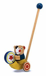 Melissa and Doug Drumming Bear Push Toy
