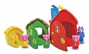 Melissa Doug - Three Little Pigs Playset