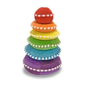 Melissa and Doug Plush Rainbow Stacker