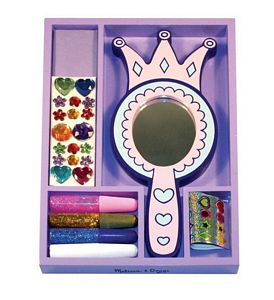 Melissa and Doug Princess Mirror Decorate-Your- Own
