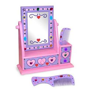 Melissa and Doug Decorate Your Own Vanity Set
