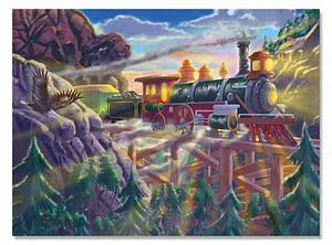 Melissa and Doug 200 Piece Eagle Canyon Jigsaw Puzzle