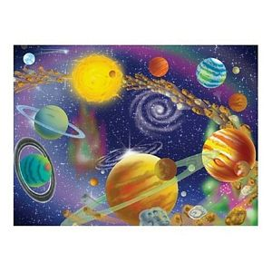 Melissa and Doug The Infinite Cosmos 300 Piece Jigsaw Puzzle